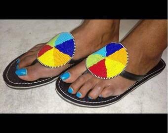 Maasai Mduara Sandals