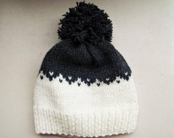 Fair isle hat Knit beanie fair isle beanie beanie hat knit hat hand knit beanie