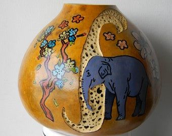 Elephant Gourd art.