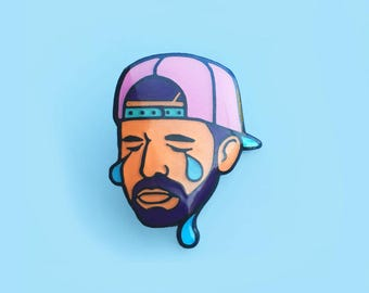 Drake Enamel Pin