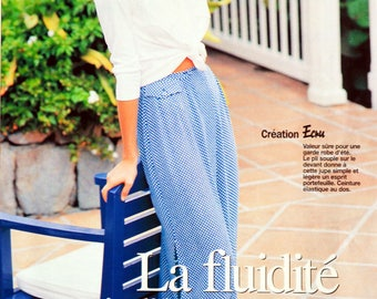Prima 5.97 - sewing pattern flowing skirt