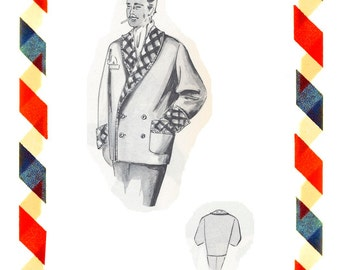 Vintage Sewing Pattern in any size including plus size 1949 PDF Instant Download Pattern no 100