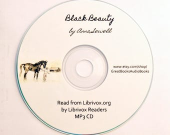 Black Beauty, by Anna Sewell {Vintage Books, Audio Books, Children's Gifts, Horse Story, Stocking Stuffers}
