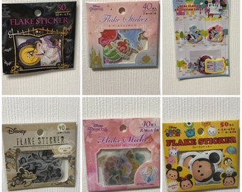 Disney Flake Stickers