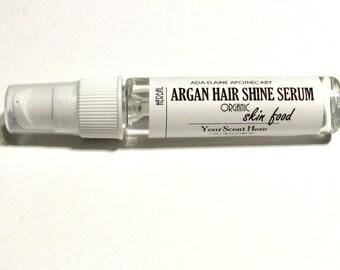 Organic Moroccan Argan Hair Shine Serum | Natural Hair Treatment | Frizz | Split Ends | Spa Gift | Gift Under 10 | You Pick | 1 oz