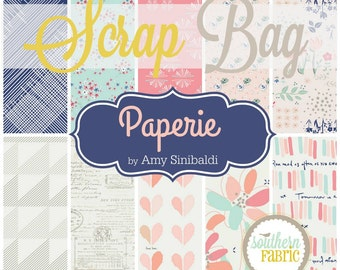 Paperie - Scrap Bag Quilt Fabric Strips by Amy Sinibaldi for Art Gallery Fabrics