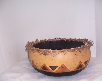 INDIAN GOURD BOWL