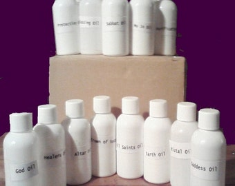 Pagan Wiccan Ritual and Altar oils, 2 drams, Handmade and custom blended
