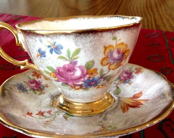 Vintage Royal Albert Bone China made in England teacup and saucer