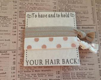 Beautiful Elastic Hair Ties, hair accessories, party favors