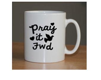 Coffee mug, mug, religious mug, inspirational mug, mug gift, gift for her, gift for him, get well, housewarming, moving, gift, personalized