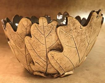 Medium Oak Leaf Bowl 73