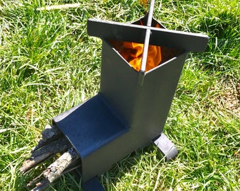 Rocket Stove / Camping Stove / Wood Stove  Emergency Stove / Survival / Portable