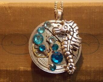 Ocean Watch Movement Necklace