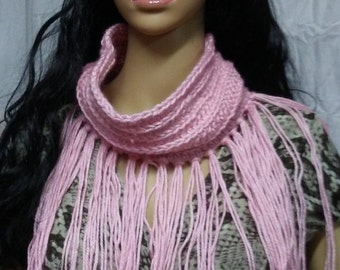Made to oder Fringy cowlneck