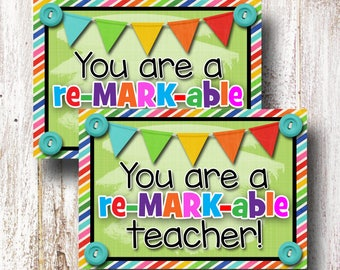Teacher Appreciation Printable, For Teacher Appreciation Gift, Teacher Appreciation Week, Teacher Appreciation Tags, Printable Tags