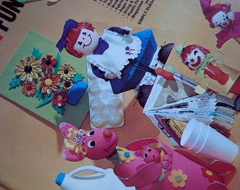 1974 Crafts for Family Fun Craft Book