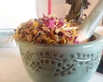 Calm Focus Organic Herbal Blend to Calm the Monkey Mind