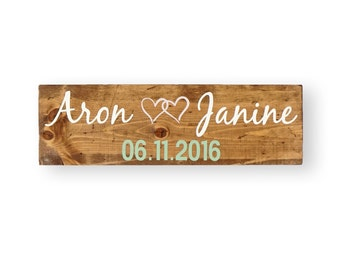 Save the Date Sign- Wedding Photo Props- Engagement Signs- Wedding Signs -  Engagement Gifts for Couple- Rustic Save the Date- Wedding Props