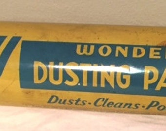 Key Wonder Dusting Powder Tin from the 1940's