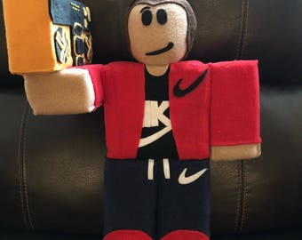 Roblox inspired plushies custom make your own Robloxian