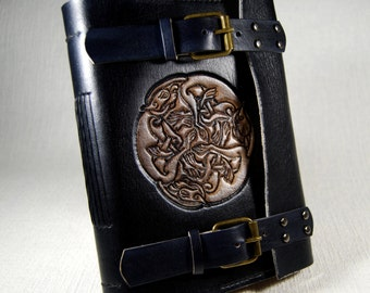 Celtic Leather Journal, Handmade Leather Journal, Custom Leather Journal, Personalized Journal, Notebook, Diary, Gift