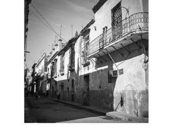 Shadows, Old Havana, Cuba, Signed Art Print / Black and White Architecture Photography / Cuban Street Photo