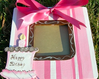 Personalized Birthday Boutique Picture frame Custom Designs Nursery Baby Children