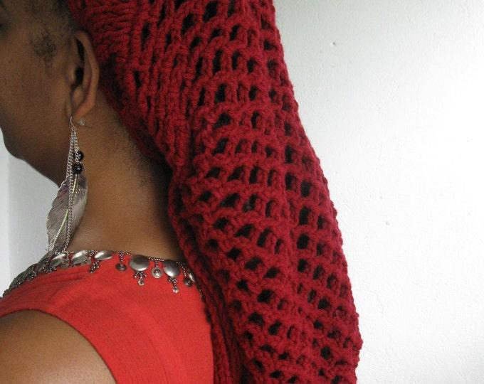 Dreadlocks beanie, sisterlocs beanie, sisterlocs hat, dreadloc hat,  snood, dreadlock snood, dreadlock hair accessories, locs, sisterlocs