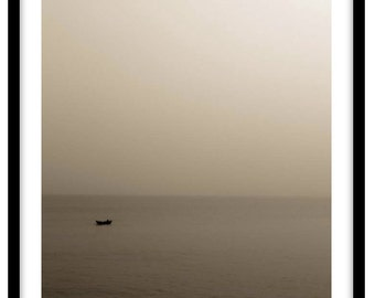 Junk on the South China Sea, Hong Kong.   Photograph is printed in 308gsm Hahnemuhle fine art paper (Unmatted)