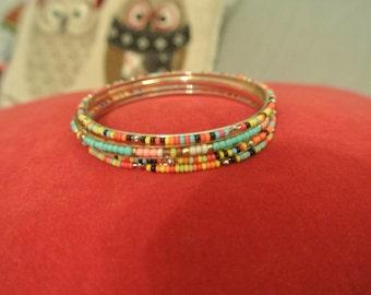 Beaded Bracelets Just Right for Summer