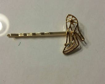 Cinderella Shoe hairpin