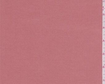 Terra Cotta Orange Rayon Jersey Knit, Fabric By The Yard