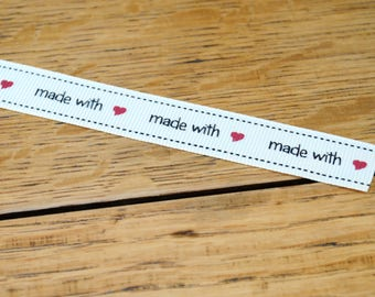 Ribbon Made with Love
