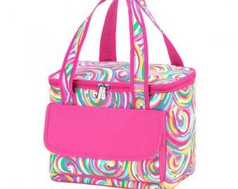 Summer Sorbet Cooler Bag, Free Monogram
