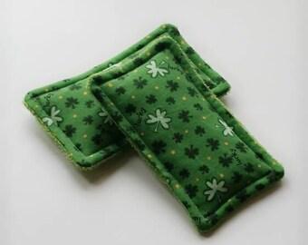 Reusable sponge, unsponges, St Patrick's Day, clover, ecofriendly sponge, bath sponge, kitchen sponge