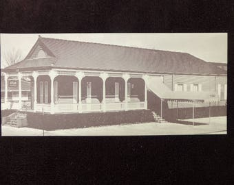 "Vintage Postcard LERUTH'S Restaurant Gretna LA Louisiana New Orleans Sepia 7 3/4"" by 3 1/2"""