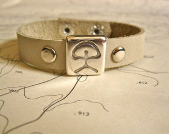Indalo bracelet for luck and to inspire good fortune