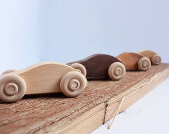 Small Wooden Car / Purse Car/ Toy car / Toddler Toy / Gift for Kids / Natural Toy / Stocking Stuffer