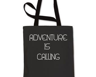 Adventure Is Calling  Shopping Tote Bag