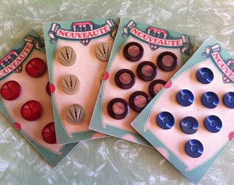 Gorgeous Vintage French buttons