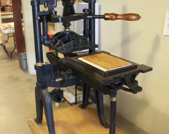 Custom Letterpress Printed Broadside
