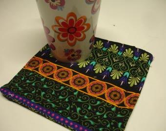 Tapestry Reversible Cup Carpet Mug Rug Tapestry