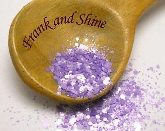 African Violet Matte Solvent Resistant Glitter Mix