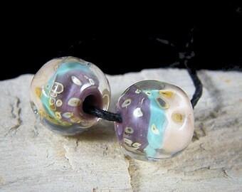 Handmade Lampwork Beads~Sweet Dreams~Boho~Lampwork Pairs