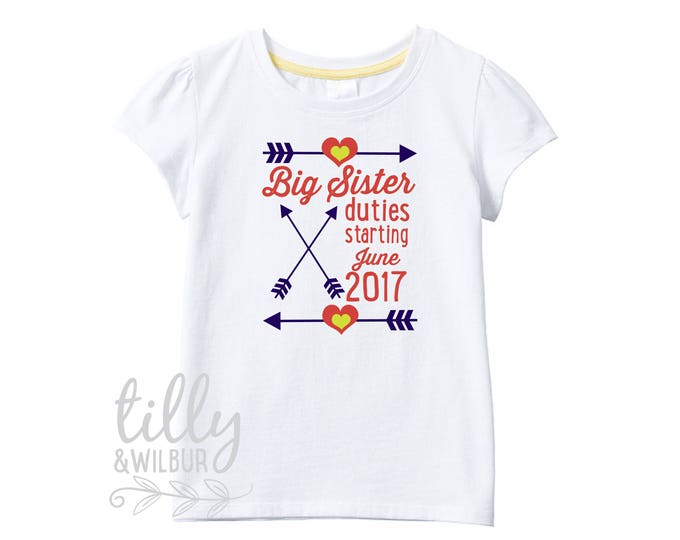 Big Sister Duties T-Shirt