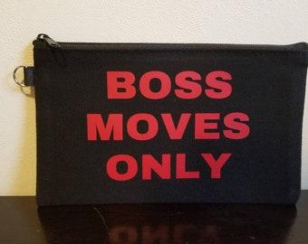 Boss Moves Only Make Up bag