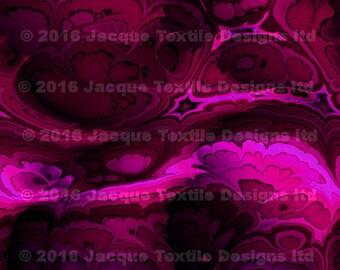 Hand Created Artist Pink Purple Lycra Knit Fabric By The Yard Athletic Apparel Swimwear Swim Suit