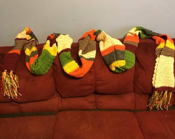 4th Doctor style scarf