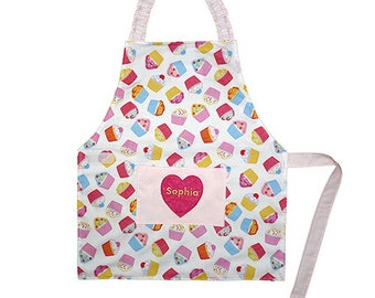 Personalised Children's Apron - Age 2 - 4 years